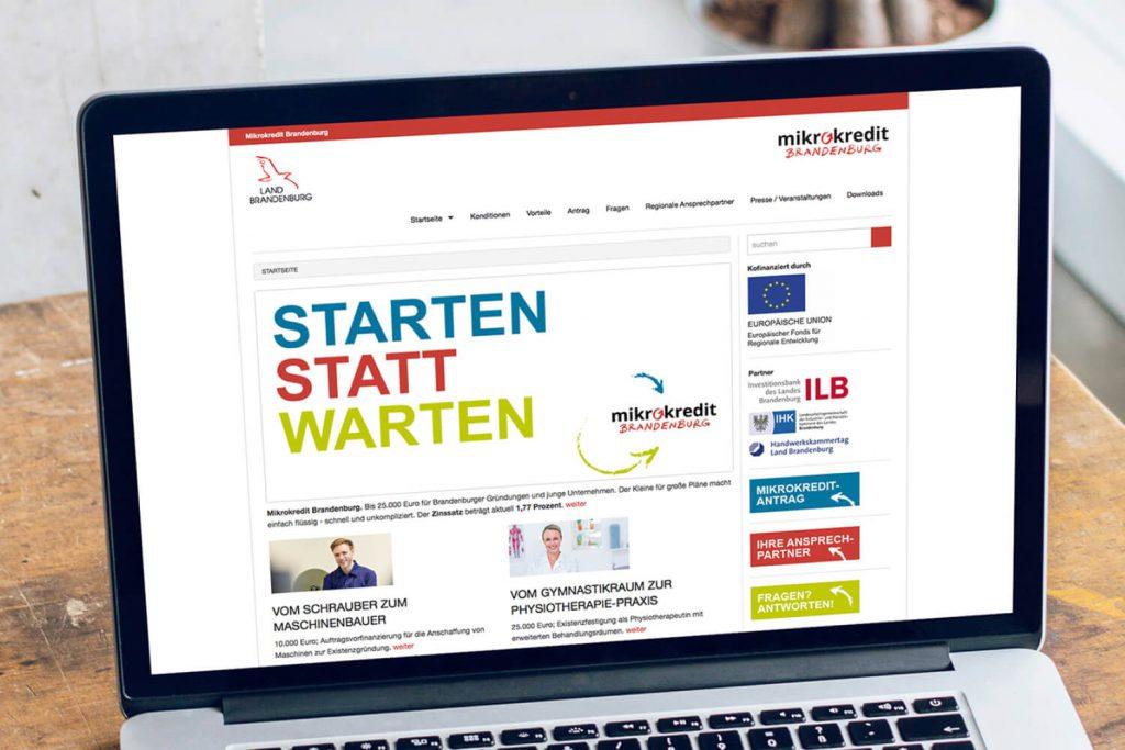 mikrokredit Brandenburg